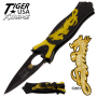 yellow dragon knife