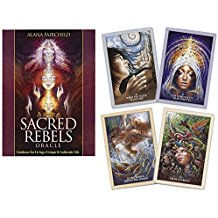 Sacred Rebels Oracle Deck by Alana Fairchild and Autumn Skye Morrison